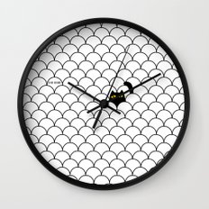 I Creep On You II Wall Clock