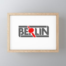 Berlin Fernsehturm Framed Mini Art Print