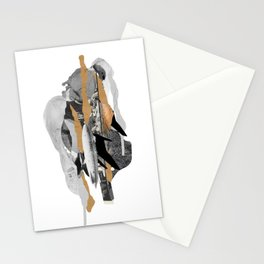 Conversation with father Stationery Cards