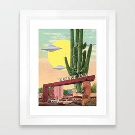 Desert Inn Framed Art Print