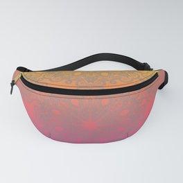 Hot Pink & Yellow Mandala Fanny Pack