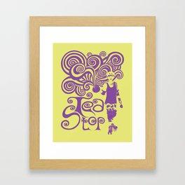 Tea Stop Framed Art Print