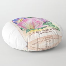Morning Glory Seed Pack Floor Pillow