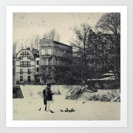 Winter's Coming Art Print