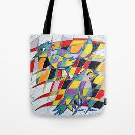 Birdopoly Tote Bag
