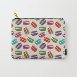 Colorful macarons pattern Carry-All Pouch