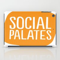 logo iPad Cases featuring LOGO by Social Palates Photography
