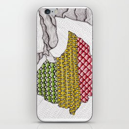 Patterns on Ethiopia iPhone Skin