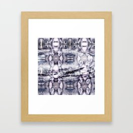 Yesterday is Gone Framed Art Print