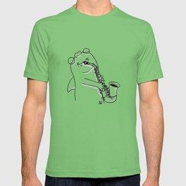Saxy Thumb Shark (custom) T-shirt