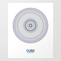 Chicago (north side) rings Art Print