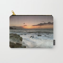 Sunset Over the Rocks Carry-All Pouch