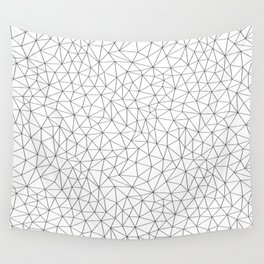 Low Pol Mesh (positive) Wall Tapestry