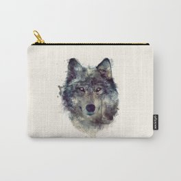 Wolf // Persevere  Carry-All Pouch