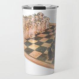Bunny chess Travel Mug