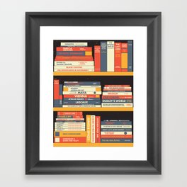 W.A. Library Framed Art Print