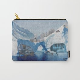 Iceberg city  Carry-All Pouch