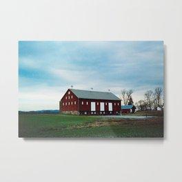 Thomas Farm Barn, Urbana, Maryland Metal Print