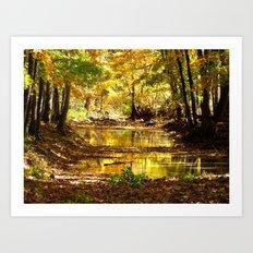 Fall afternoon III Art Print