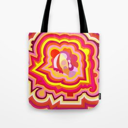 Warm Candy Tote Bag