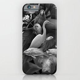 Secret animals iPhone Case