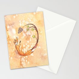 Aesop's Fables - The Fox and the Grapes Stationery Cards