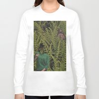 camouflage Long Sleeve T-shirts featuring Camouflage by Miquel Kendrick Collage