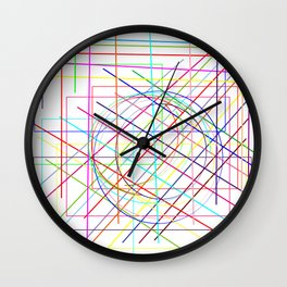 disarray. Wall Clock