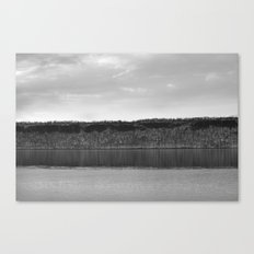 Along The Hudson Canvas Print