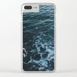 Dark #Sea Clear iPhone Case