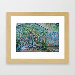 Graffiti dreams Framed Art Print