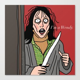 Female Trouble Series: Wendy Torrance Canvas Print