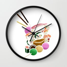 Sushi and Sweets - Inside Wall Clock