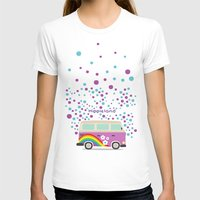 hippie T-shirts featuring Hippie Land by Subcutaneo