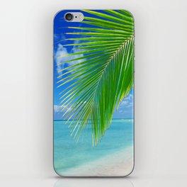 Domenicana beach iPhone Skin