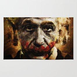 Einstein The Joker (Relatively Funny) Rug