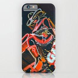 Las Vegas Cowgirl iPhone Case