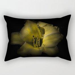 Backyard Flowers 36 Color Version Rectangular Pillow