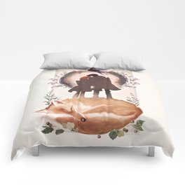 Fable of Mulder and Scully Comforters