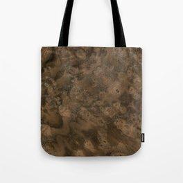 Walnut Burl Wood Tote Bag