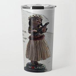 Wolfen Hula Babe Travel Mug
