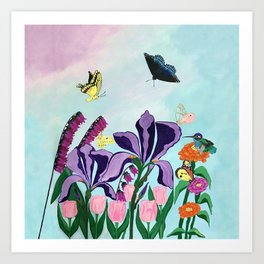 Garden of Heavenly Delight Art Print