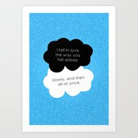 tfios Art Prints featuring TFiOS Quote by royaltyblood