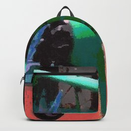 Model Plane Abstract Backpack