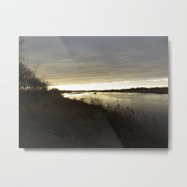 Along the North Platte River, Nebraska Metal Print