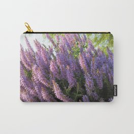 """City Blooms Summer of Seventeen"" Carry-All Pouch"