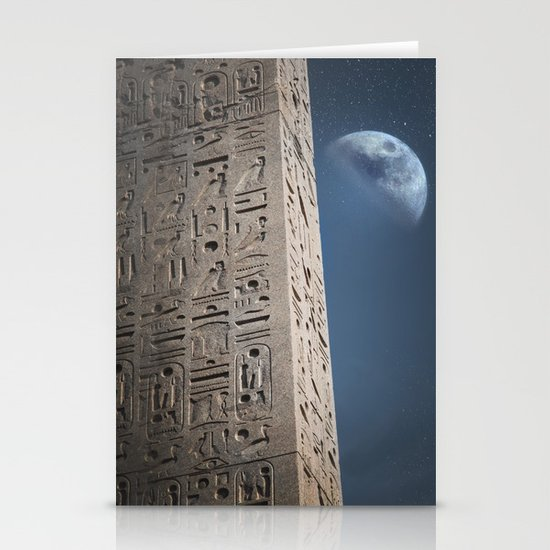 Egyptian Moon Stationery Cards