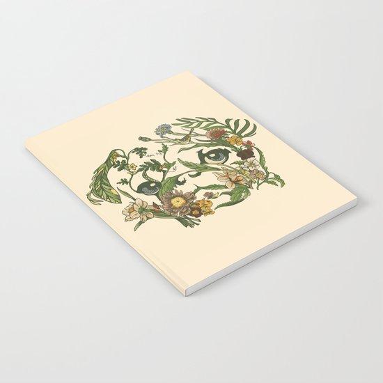 Botanical Pug Notebook