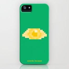 PAUSE – Golden Eye iPhone Case