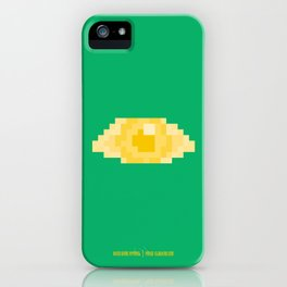 PAUSE – Golden Eye iPhone Case